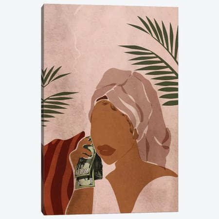 Good Mornin' Canvas Print #DMQ174} by Domonique Brown Canvas Art Print