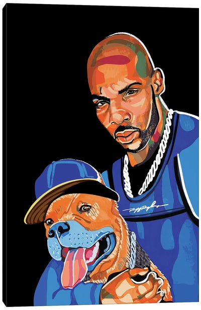 DMX Canvas Art Print