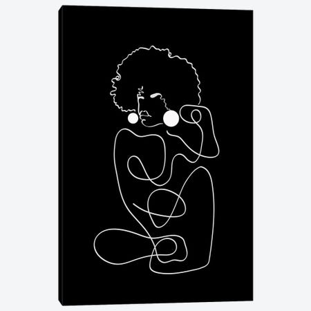 Matisse Noir II Canvas Print #DMQ192} by Domonique Brown Canvas Art