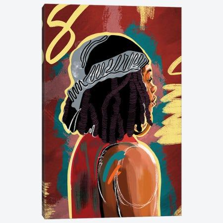 Locs Of Love Canvas Print #DMQ196} by Domonique Brown Canvas Art Print