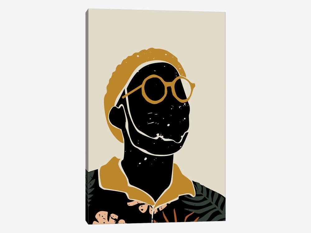 Black Hair VIII by Domonique Brown 1-piece Canvas Artwork