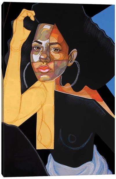 Black Picasso Canvas Art Print