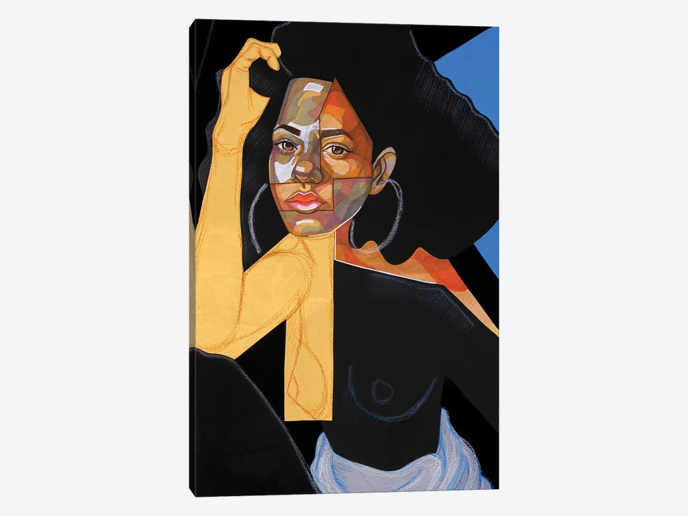 Black Picasso by Domonique Brown 1-piece Canvas Wall Art