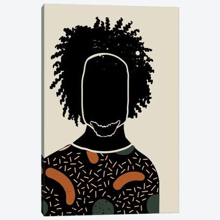 Black Hair IX Canvas Print #DMQ20} by Domonique Brown Canvas Print