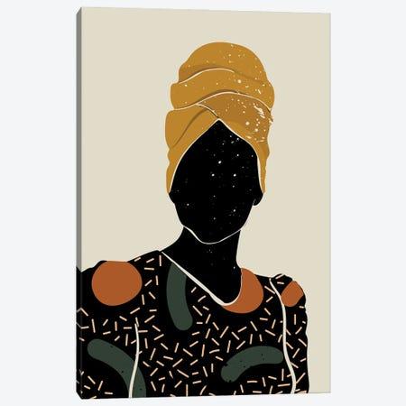 Black Hair X Canvas Print #DMQ21} by Domonique Brown Canvas Art Print