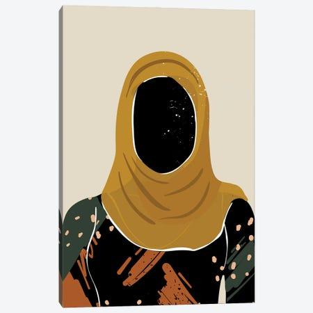 Black Hair XIII Canvas Print #DMQ24} by Domonique Brown Canvas Art