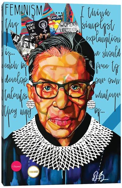 Ruth Ginsburg Canvas Art Print