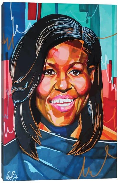 Michelle Obama Canvas Art Print