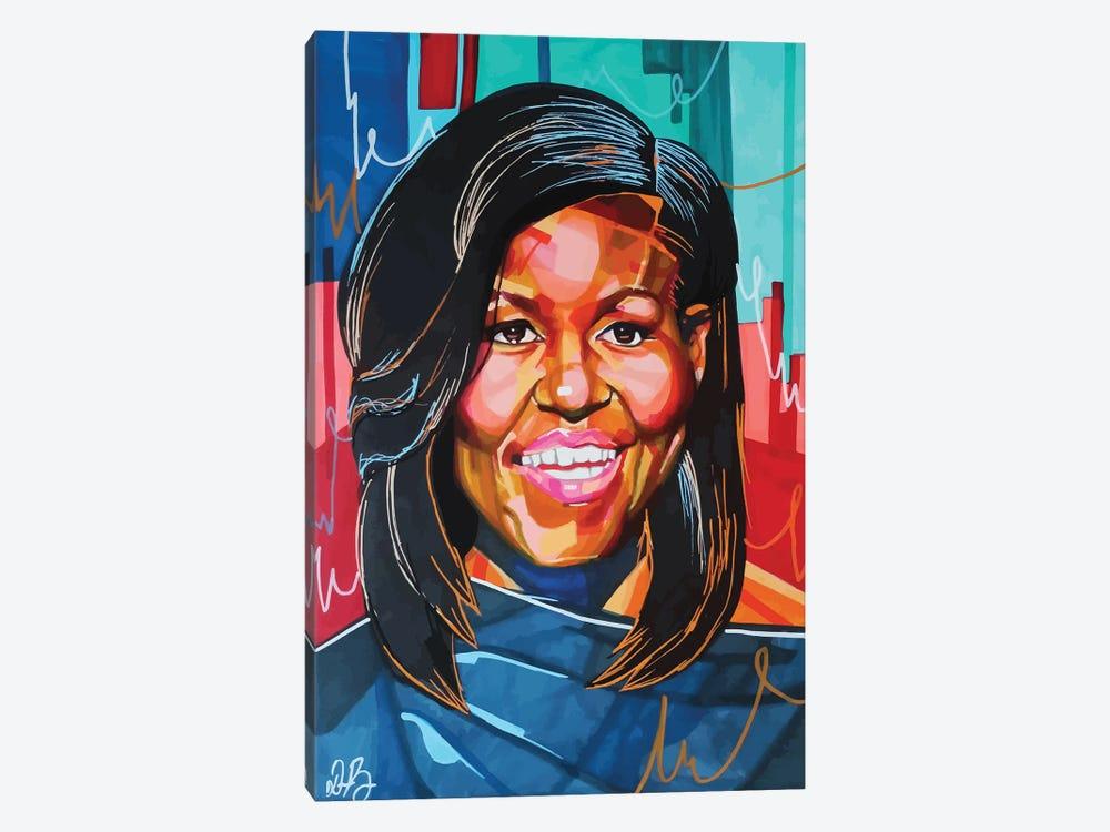 Michelle Obama by Domonique Brown 1-piece Canvas Art