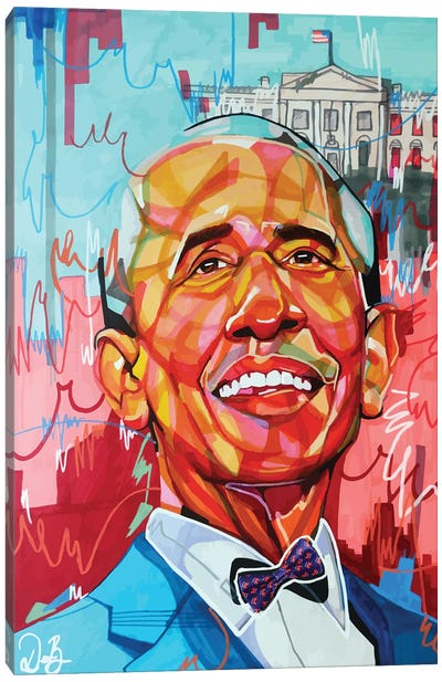 Barack Obama Canvas Art Print