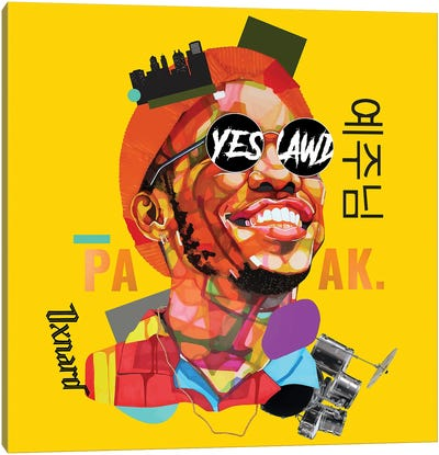 Anderson Paak Canvas Art Print