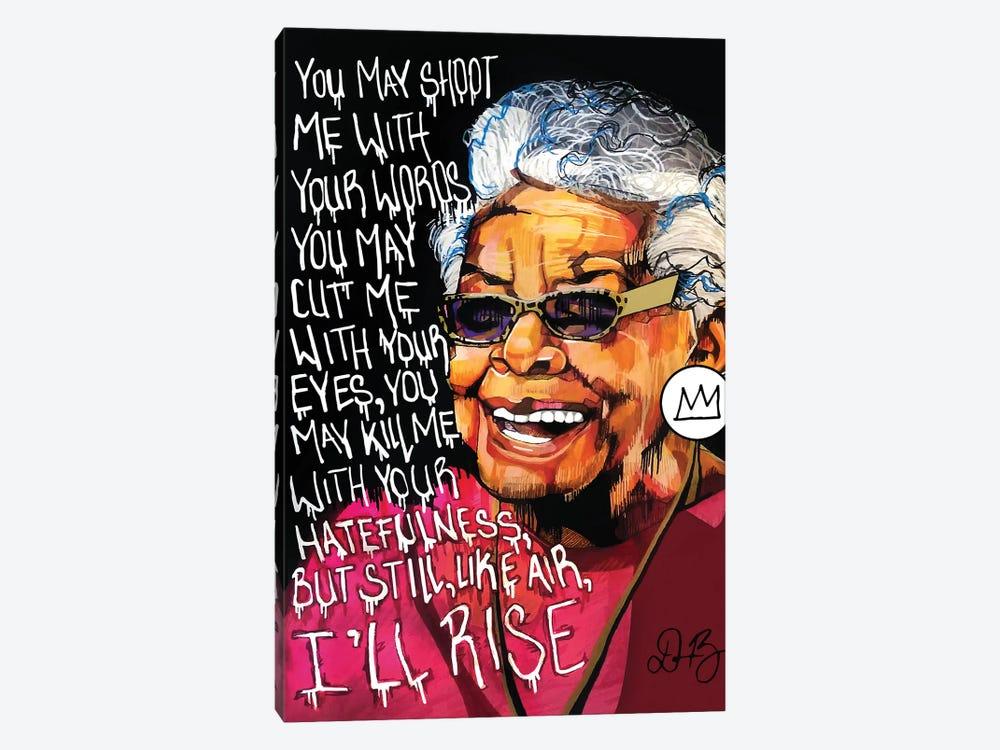 Maya Angelou by Domonique Brown 1-piece Canvas Print