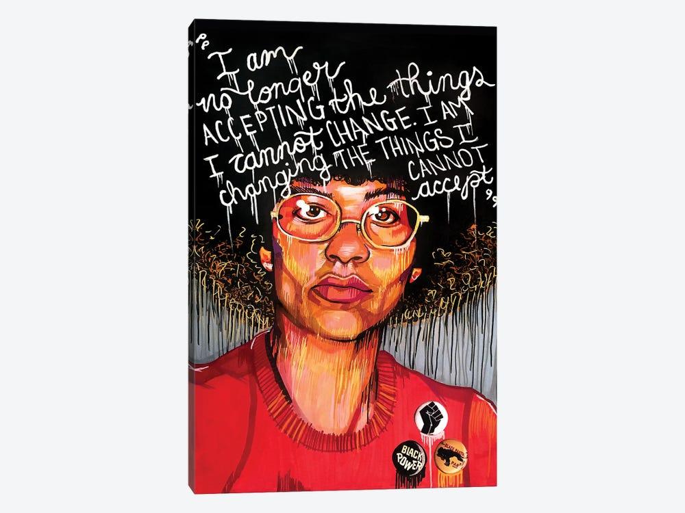 Angela Davis by Domonique Brown 1-piece Canvas Artwork