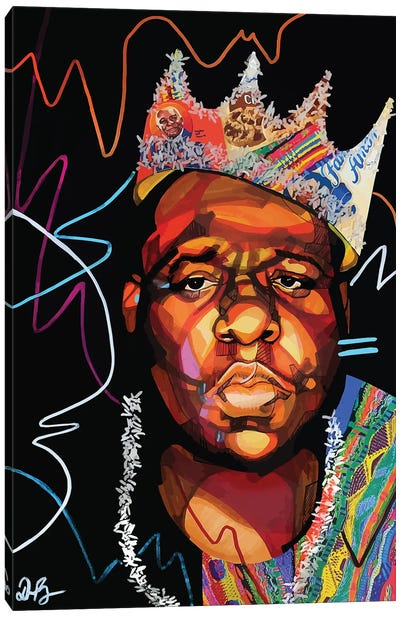 Biggie Smalls Canvas Art Print