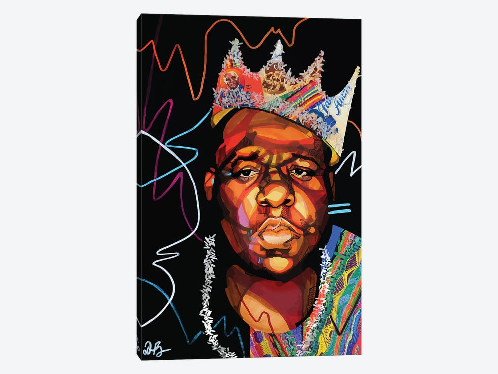 Biggie Smalls by Domonique Brown 1-piece Canvas Print