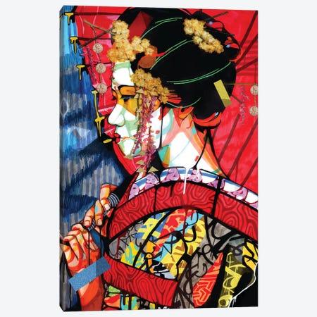 American Geisha 3-Piece Canvas #DMQ49} by Domonique Brown Canvas Print