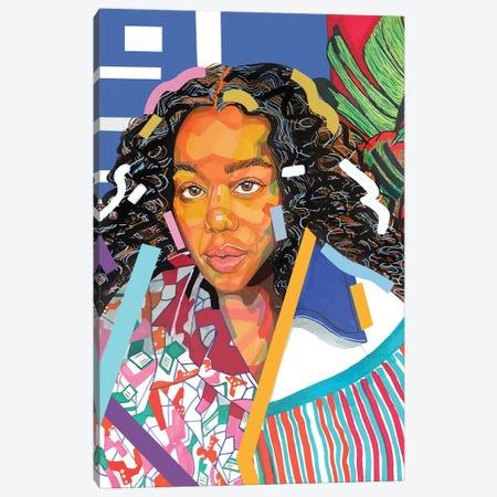 Laura Canvas Print #DMQ50} by Domonique Brown Canvas Art