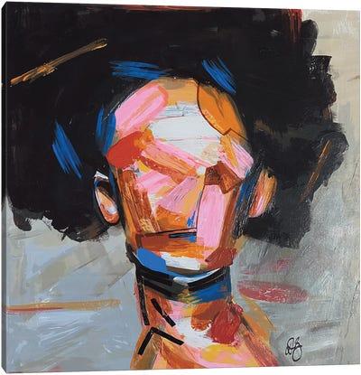 Groovy Toni Canvas Art Print