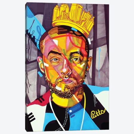 Mac Miller Canvas Print #DMQ56} by Domonique Brown Canvas Print