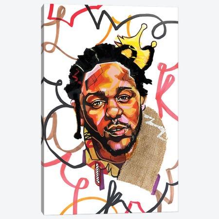 Kendrick Lamar Canvas Print #DMQ57} by Domonique Brown Canvas Print