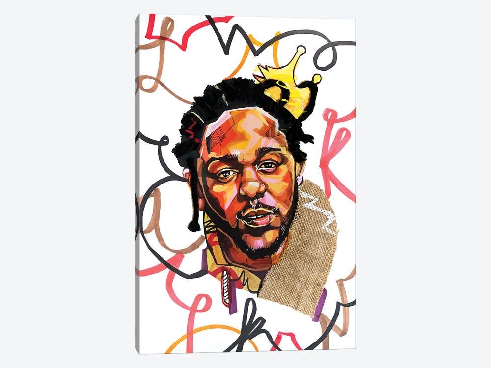 Kendrick Lamar by Domonique Brown 1-piece Canvas Art