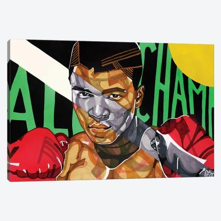 Ali Canvas Print #DMQ5} by Domonique Brown Canvas Wall Art