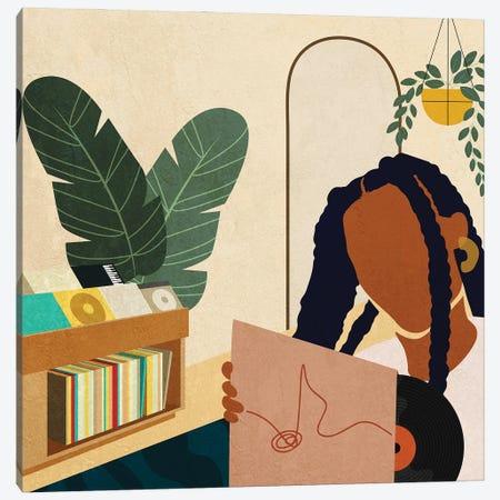 Stay Home No. 4 Canvas Print #DMQ61} by Domonique Brown Art Print
