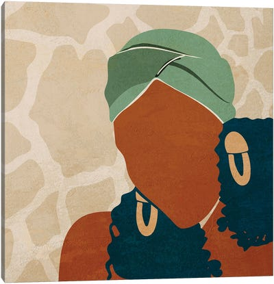 Head Wrap No. 1 Canvas Art Print