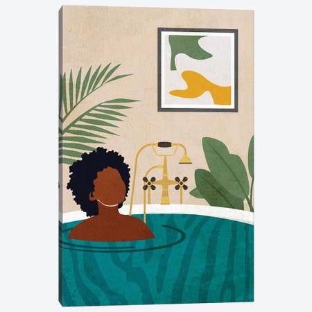 Stay Home No. 2 Canvas Print #DMQ64} by Domonique Brown Canvas Artwork