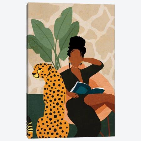 Stay Home No. 1 Canvas Print #DMQ65} by Domonique Brown Canvas Wall Art