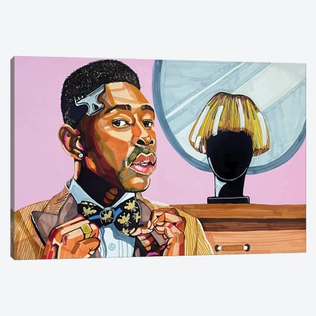 Tyler, the Creator Canvas Print #DMQ66} by Domonique Brown Canvas Artwork