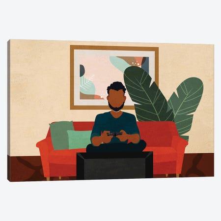 Stay Home No. 6 Canvas Print #DMQ67} by Domonique Brown Canvas Wall Art