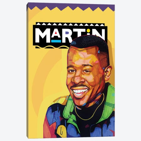 The Martin Show Canvas Print #DMQ74} by Domonique Brown Art Print