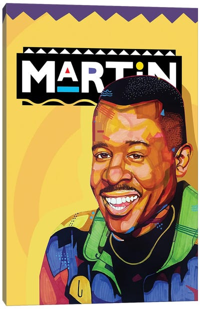 The Martin Show Canvas Art Print