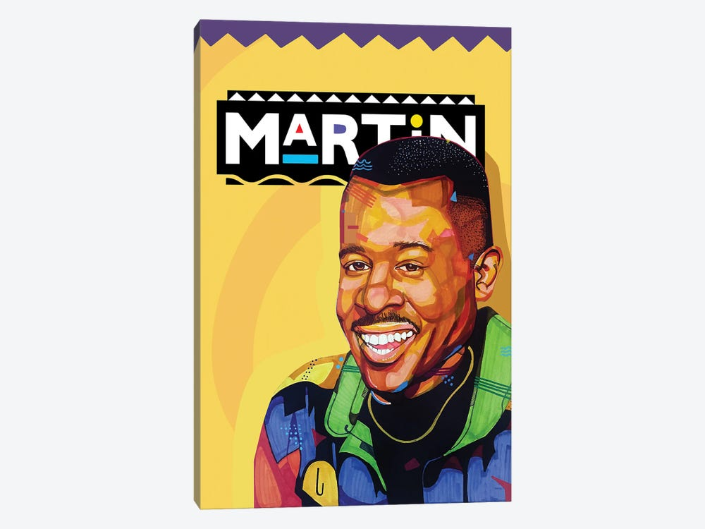 The Martin Show by Domonique Brown 1-piece Canvas Art Print