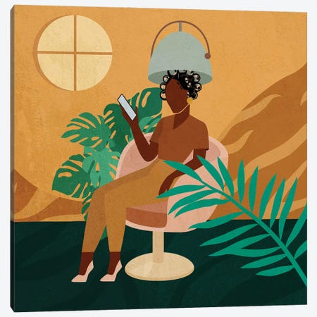 Salon No. 3 Canvas Print #DMQ79} by Domonique Brown Canvas Artwork