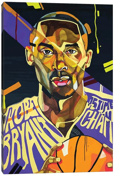 Kobe Bryant Canvas Art Print