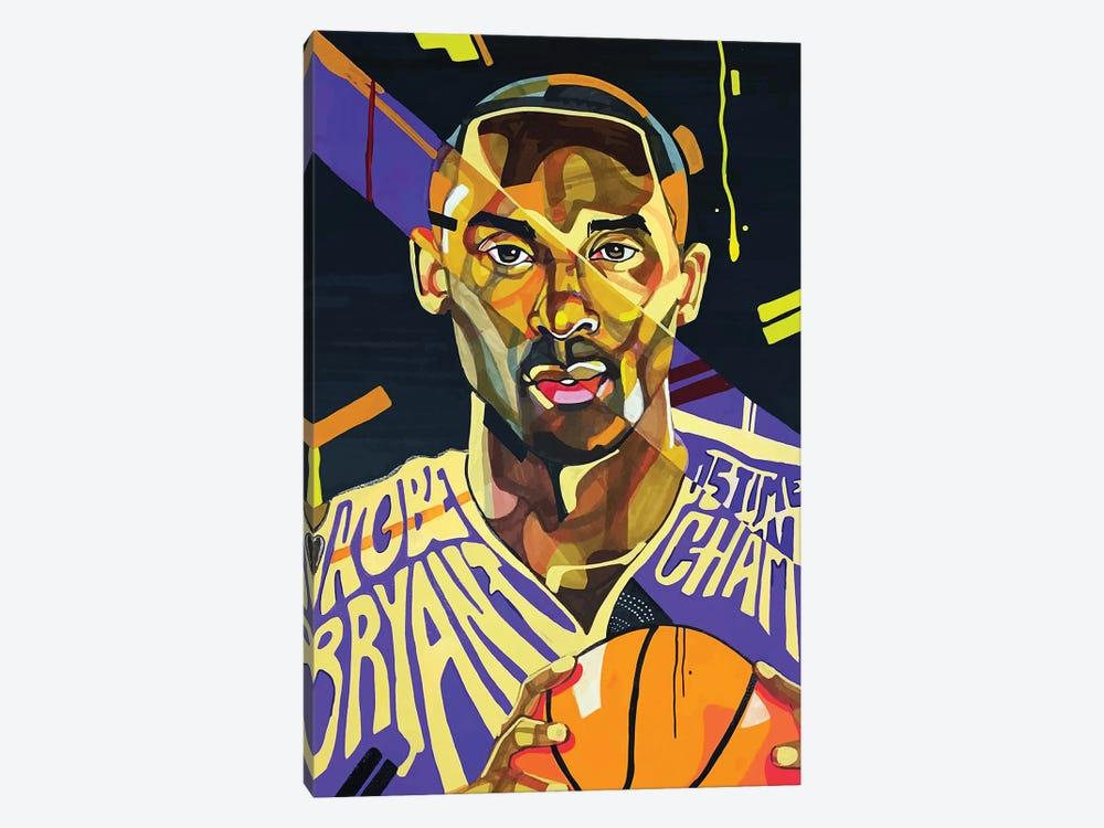 Kobe Bryant by Domonique Brown 1-piece Canvas Wall Art