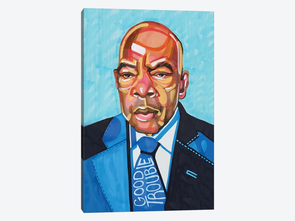 John Lewis by Domonique Brown 1-piece Art Print