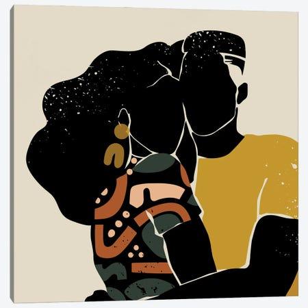 Black Love Canvas Print #DMQ84} by Domonique Brown Canvas Art