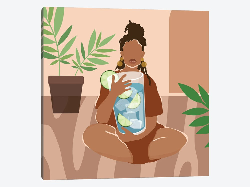 I Need a Drink by Domonique Brown 1-piece Art Print