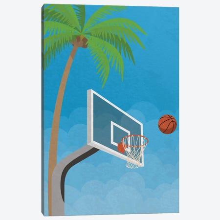 Street Ball Canvas Print #DMQ88} by Domonique Brown Canvas Art Print