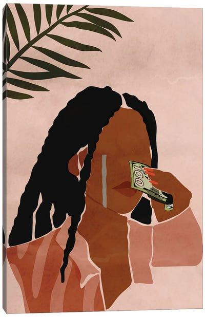 Wipin' Tears Canvas Art Print