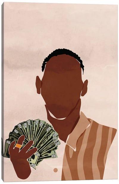 I am a Rich Man Canvas Art Print