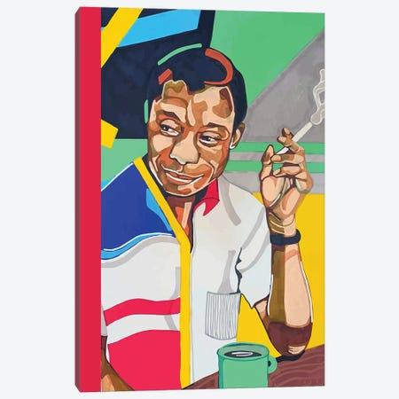 James Baldwin Canvas Print #DMQ95} by Domonique Brown Canvas Art Print