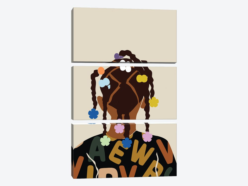 Back To School by Domonique Brown 3-piece Art Print