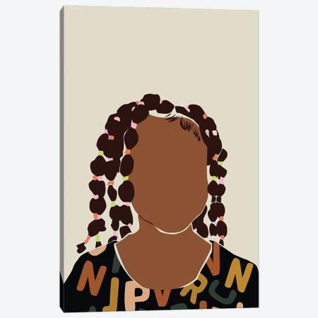 Black Girl Magic Canvas Print #DMQ99} by Domonique Brown Canvas Artwork
