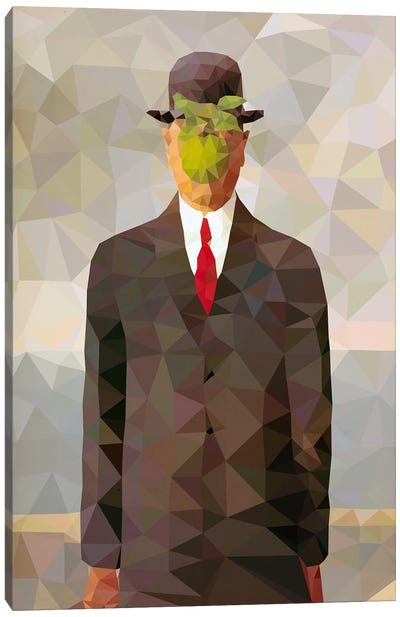 Son of Man Derezzed Canvas Art Print