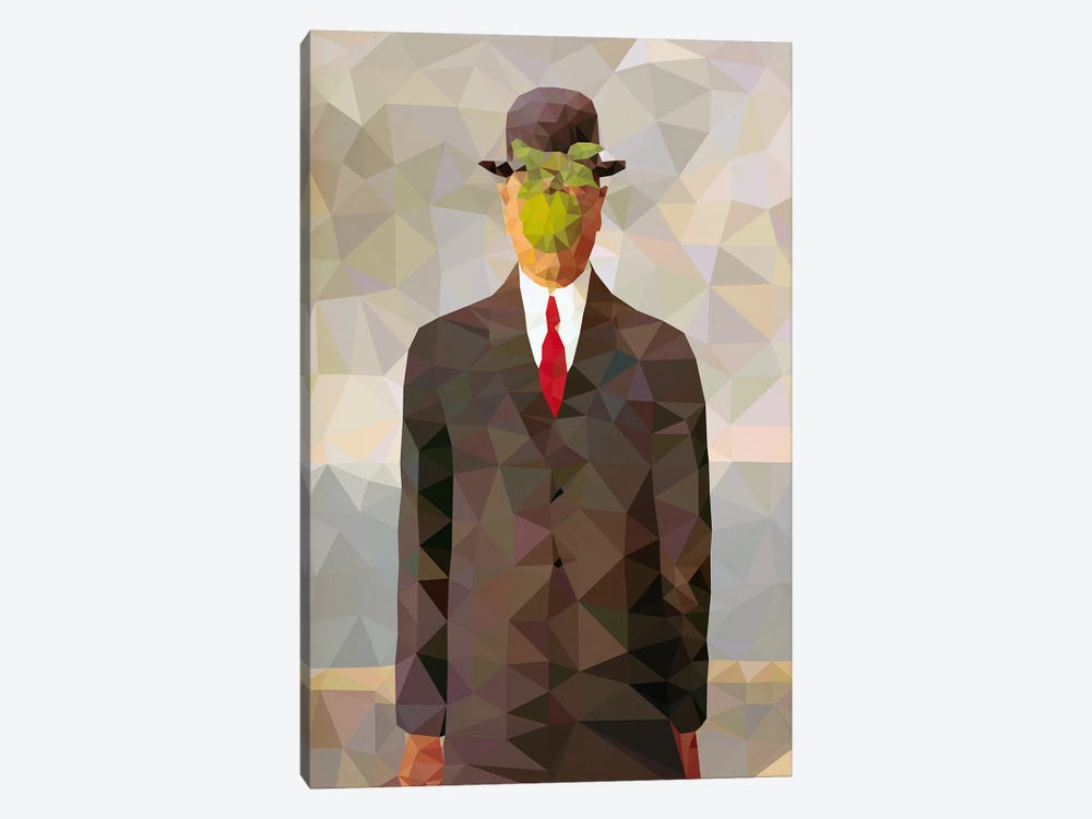 Son of Man Derezzed by 5by5collective 1-piece Canvas Wall Art