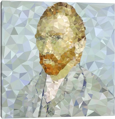 Vincent Derezzed Canvas Art Print
